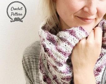 I Can't Believe It's Not Brioche Cowl ** PDF Pattern Only. Crochet Cowl Pattern.  Intermediate Crochet Cowl Pattern. Scarf Pattern Women