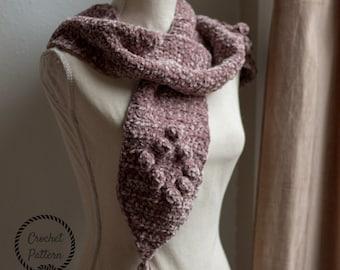 Forever Velvet Scarf Crochet Pattern **Pattern Only. Crochet Scarf Pattern. Easy Crochet Scarf. Beginner Crochet. Velvet Yarn Scarf Pattern
