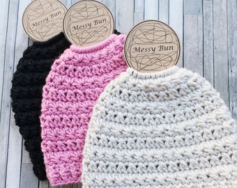 Messy Bun Beanie Display Template **PDF**.  Craft Show Display Form. Hat Display Printable. Template Craft Shows. Messy Bun Hat Tag Sign.
