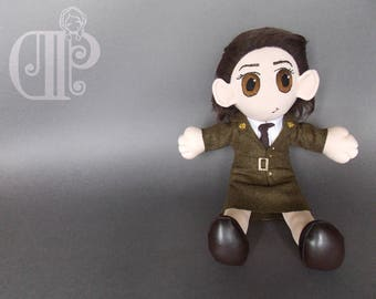 Peggy Carter Captain America Plush Doll Plushie Toy