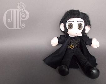 Edward Rochester Jane Eyre Plush Doll Plushie Toy