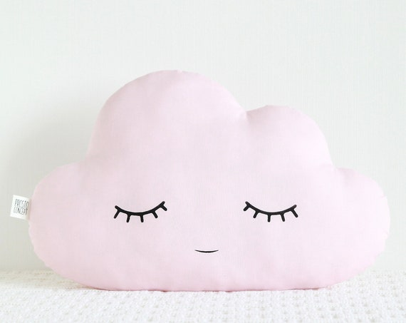 Pink Nursery Decor baby girl gift cloud pillow cloud cushion baby girl shower gift for girl room decor new baby personalized baby girl gift
