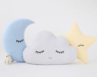 Star Pillow Star Cushion Nursery decor