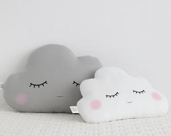 Cloud Nursery Decor, Two Cloud Pillows Cloud Cushions Baby Pillows Kids  Pillows Baby Girl Nursery Baby Boy Nursery Ideas Baby Shower Gift