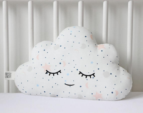 Nursery Decor Cloud Cushion, Baby Pillow