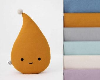 Happy Drop Pillow, Cloud Nursery, Baby Cushion, Children Room Decor, Kids Bedroom Accessories, Newborn Gift - 18 colors