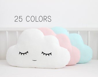 Cloud Pillow for Nursery, Cloud Cushion, Kids Room Decor, Childrens Bedroom Accessories, Teepee Decorations