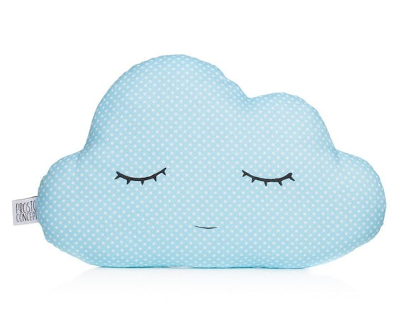 Blue Cloud Pillow, Baby Pillow, Baby Shower Gift,  Kids Pillow, Throw Pillow, Baby Boy Pillow,  Cloud Cushions, Personalized Pillow