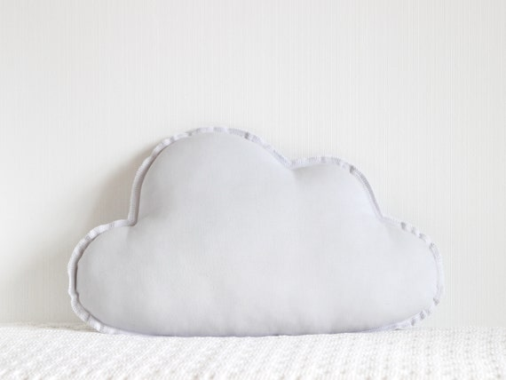 Cloud Cushion, Nursery Decor Pillow, Baby Shower Gift