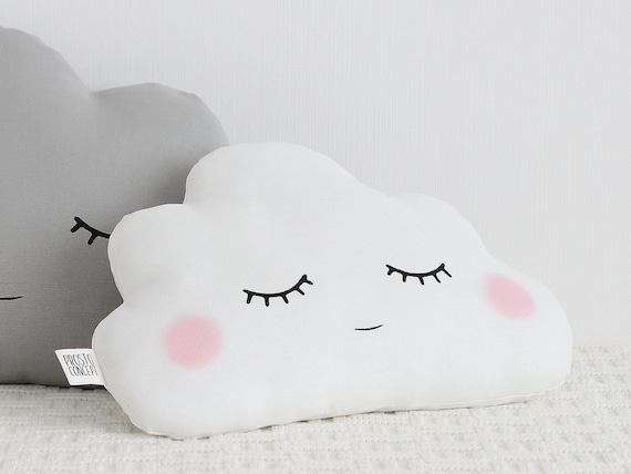 White Cloud Pillow, Baby Cushion