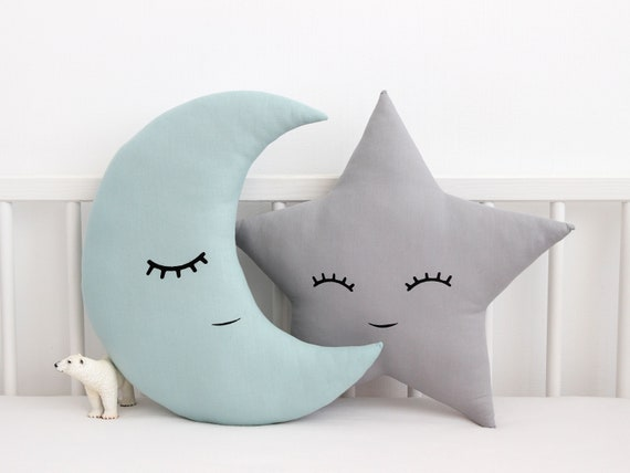 Moon Pillow Moon Cushion Crescent Moon