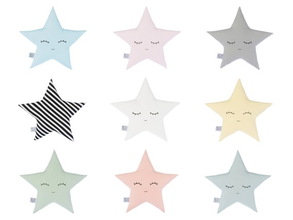 Star Pillow Star Cushion Star nursery decor baby girl nursery baby boy nursery baby shower gift kids pillows baby room unique new baby gift
