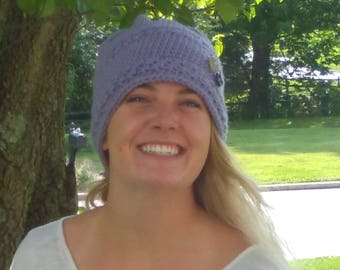Hand made Crochet Slouch Hat