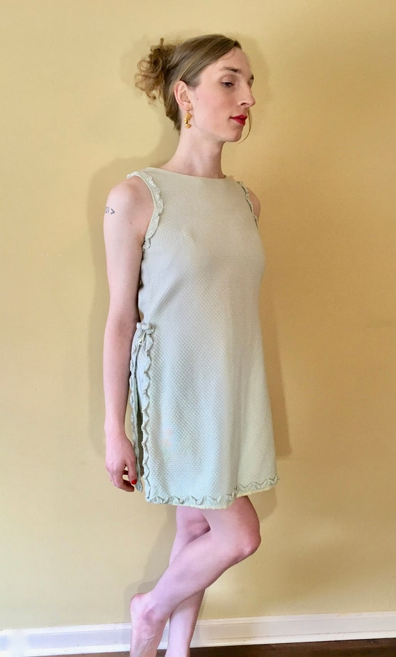 Vintage 1960s Tennis Dress Two-piece Shorts set Mi