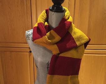 Harry Potter Scarf Etsy