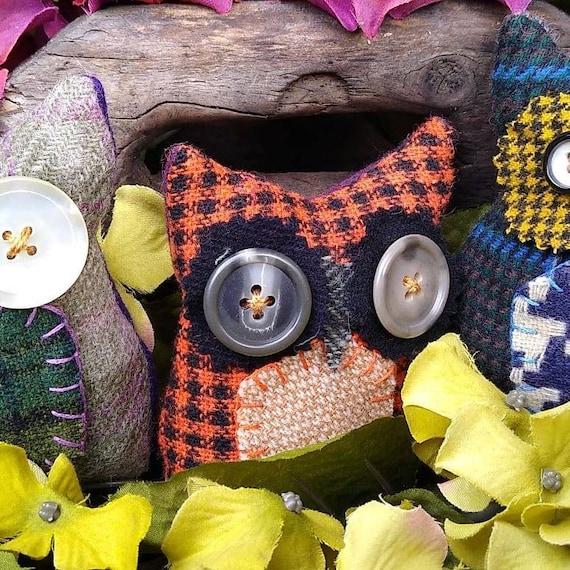 Primitive Hoot Owl trio