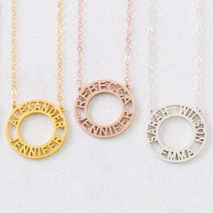 Fixer Upper Custom Names Necklace Grandma Jewelry Handmade Necklace Personalized Special Names Necklaces FREE SHIPPING Mom Jewelry