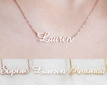 Personalized Name Necklace • Customized Your Name Jewelry • Best Friend Gift • Office Jewelry • Gift for Her • BRIDESMAID GIFTS • NH02F49