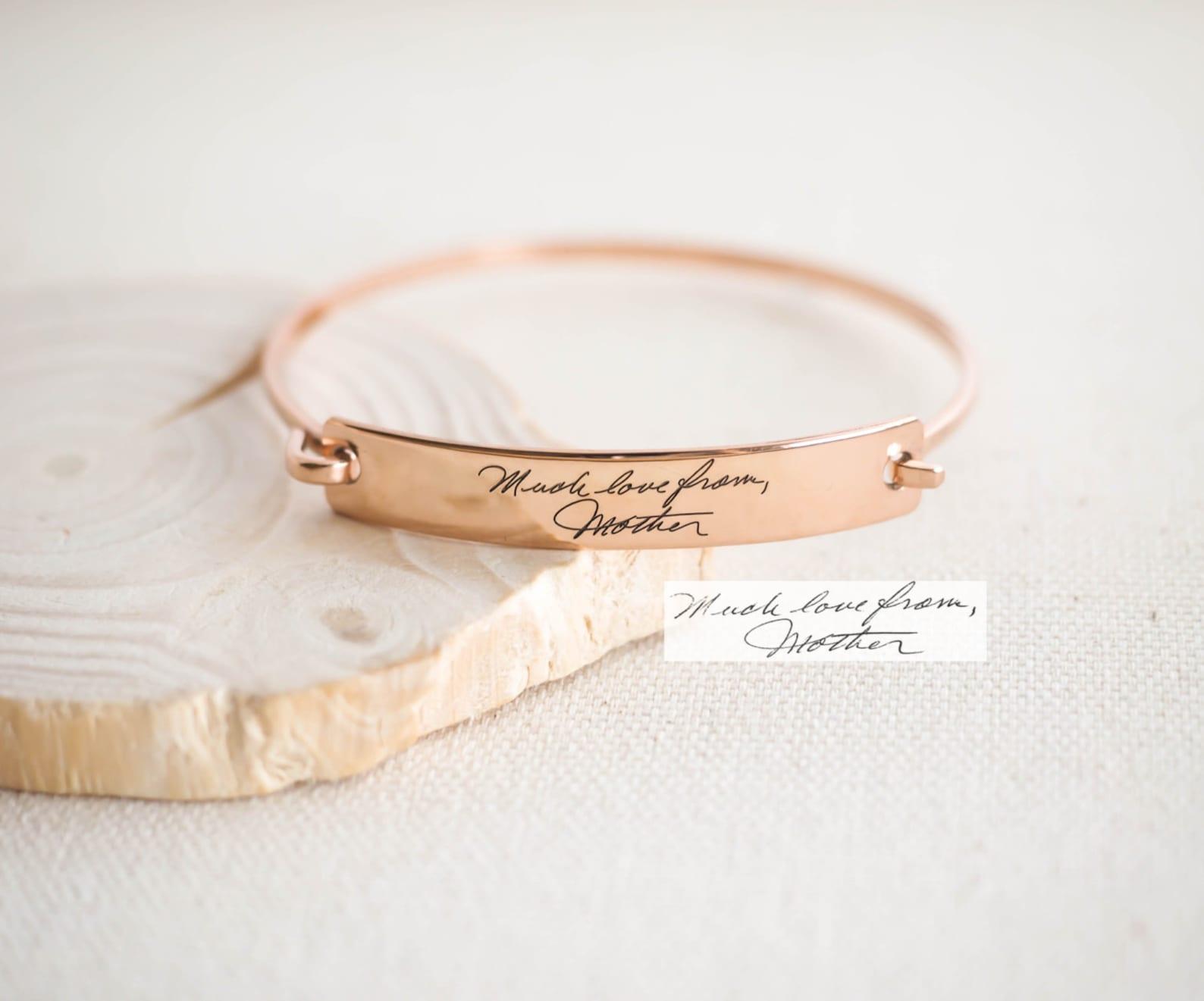 Personalized Signature Bracelets