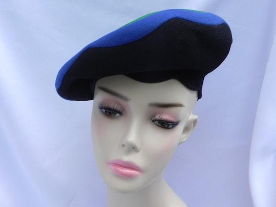 1940's Laddie Northridge Vintage Black, Blue, and