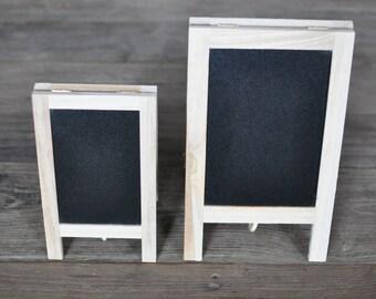 Bon 2/pk Chalkboard Easels, Chalkboard Signs, Tabletop Easel, Mini Blackboard  Easel