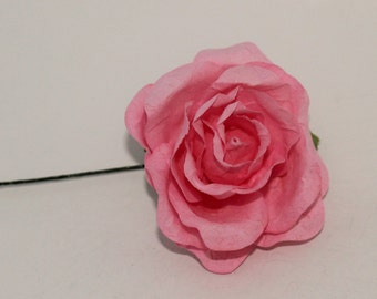 12 Roses-  2 inch Mulberry Paper Flower