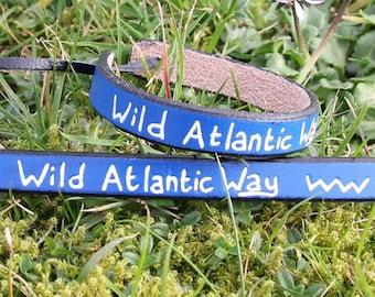 Wild Atlantic Way leather bracelet