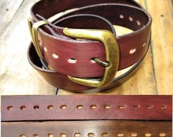 d87b9ef4e Leather Belt Handmade sizes From 22