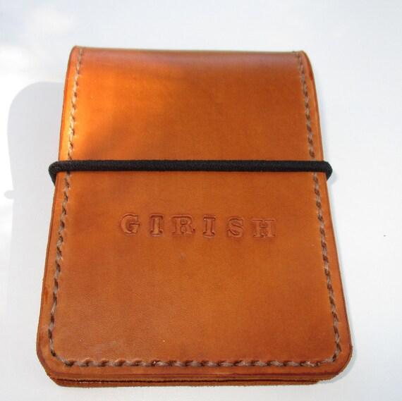 Livre personnalisé de la note cuir housse de carnet   Etsy 8cca1494dd7