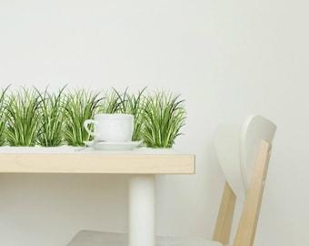 Wall Decals Grass, Home Décor, Kitchen Décor, Grass Decal Border, Grass Wall Decor, Grass Decals for Tiles Walls Furniture
