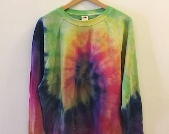 Rainbow Spiral Sweater