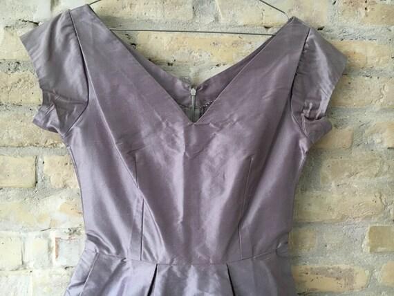 Lilac 1950's Audrey dress - image 5