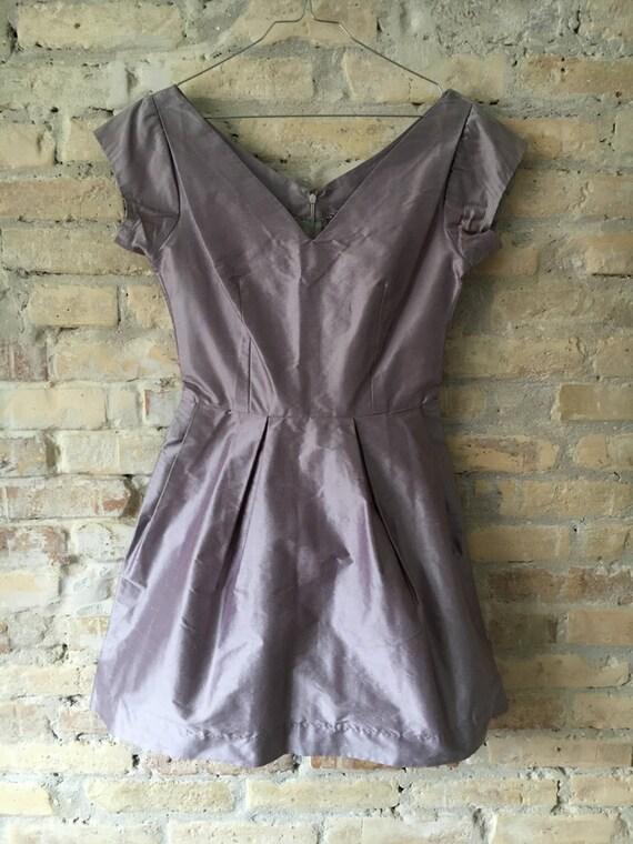 Lilac 1950's Audrey dress - image 4