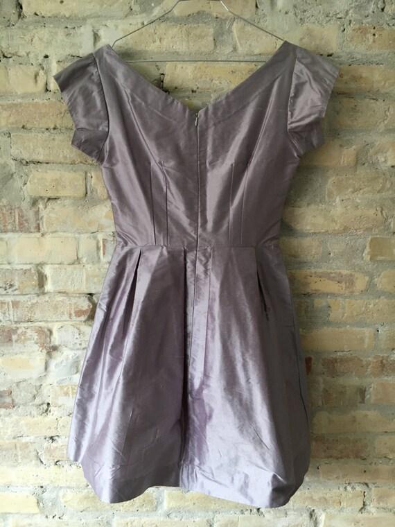Lilac 1950's Audrey dress - image 6