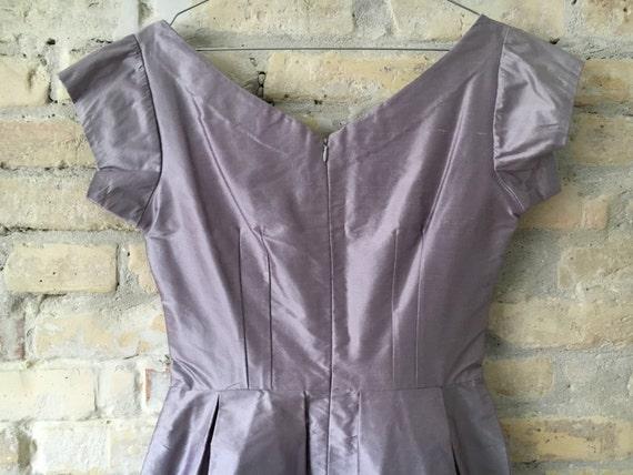 Lilac 1950's Audrey dress - image 3