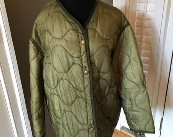QUILTED large REPURPOSED JACKET xl