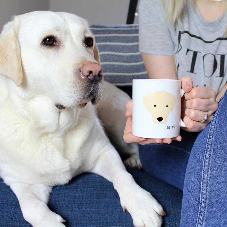 Favourite Human Personalised Dog Mug / Funny mug / Labrador / image 0