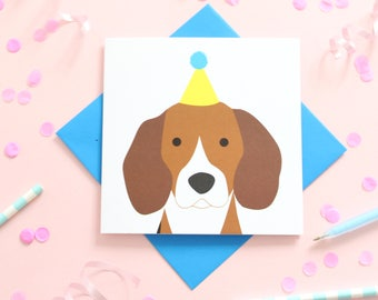 Birthday Beagle Card