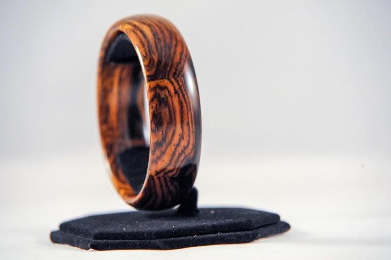 b6c55e555ef9 Cocobolo exótica madera pulseras Segmentado de la pulsera de