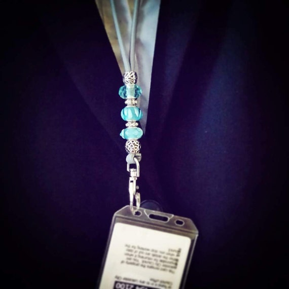 Id Card Beads: Custom Beaded Lanyard Paracord Id Pass Card Badge Whistle