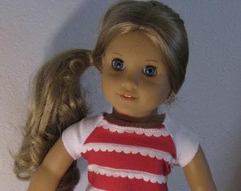 Roller Skating Top, Shorts and Skates fits 18 inch doll