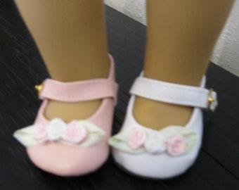 DOLL Shoes 44mm CREAM Ellowyne Patience /& NuMood Flats,