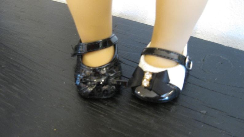 "18/"" Doll Shoes Ankle Strap Sandals fits 18/"" Doll Dress Shoes Sandals"