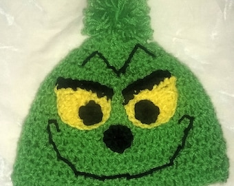 Child grinch hat  871dd182e82
