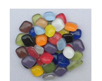 Colorfusion Crystal Glass Pebbles