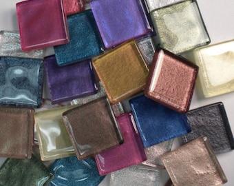 Metallic Crystal Glass MosaicTiles