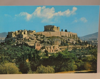 Vintage post cards from greece,set of 3 pcs