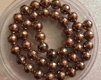 3994abad28 Light Rose gold beads