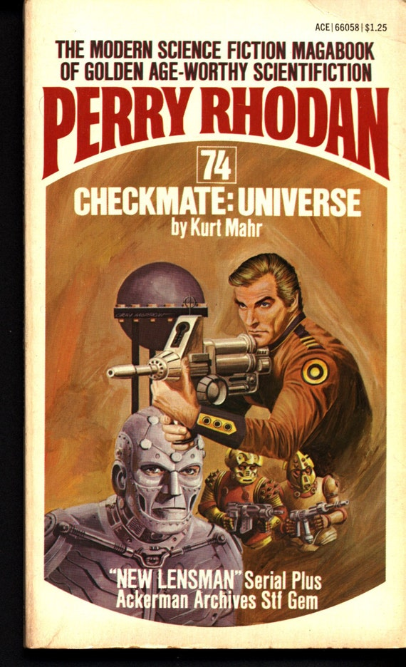 Space Force Major Perry Rhodan 74 Checkmate Universe Science Etsy
