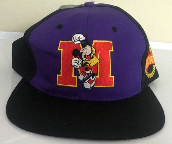 Vintage Mickey Unlimited Mouse Tuff Snapback Cap Hat NEW WITH  2751315d1a6c